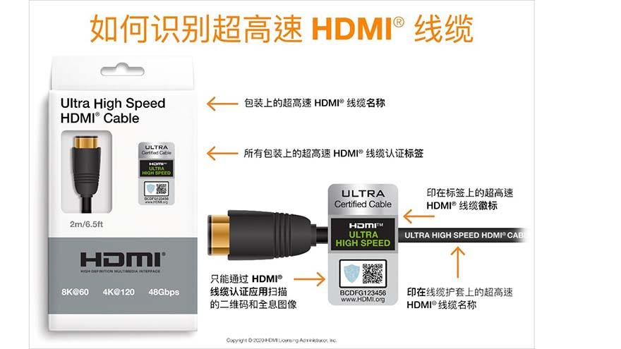 娱乐功能再提升:更多支持 HDMI® 2.1 的产品上市